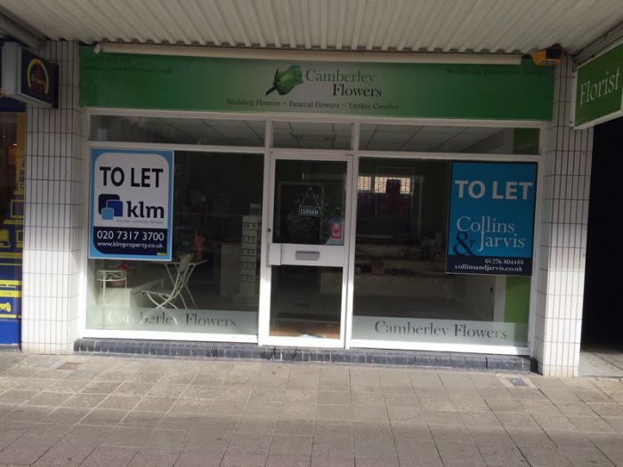 Window Board - Shop To Let Window Board - Shop To Let