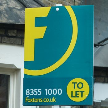 Portrait Estate Agent Boards