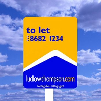 Shaped Estate Agent Boards