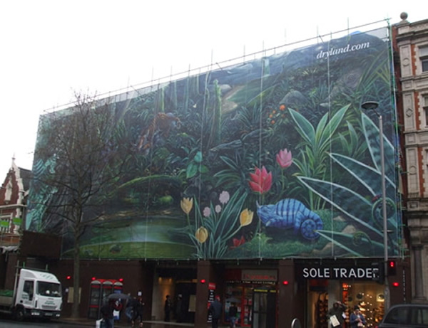 giant banner