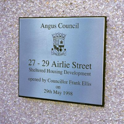 Engraved Stainless Steel Plaque Engraved Stainless Steel Plaque