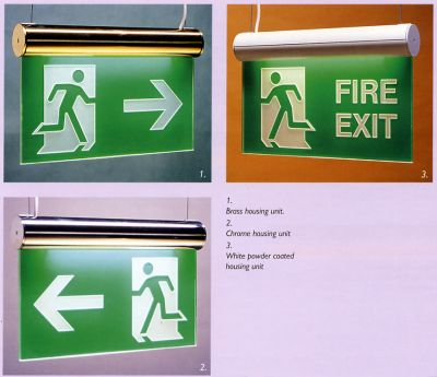 Illuminated sign system Modular Edge illuminated sign system