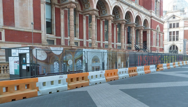 V&A Museum Construction Hoardings