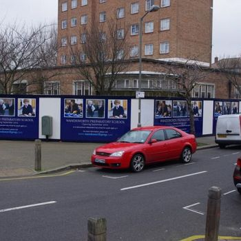 Wandsworth Council Hoarding
