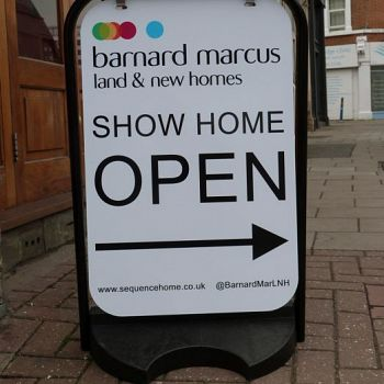 Estate Agent Panel Swing Sign