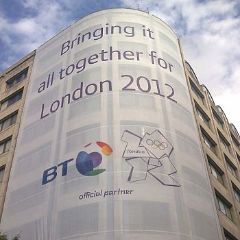 Giant Outdoor Scaffold Banner - London 2012