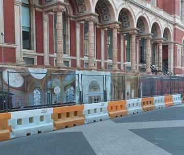 V & A Museum Construction Hoardings