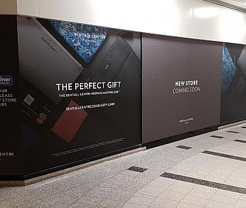 Bentalls Centre Window Graphics