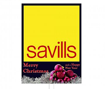 Savills Christmas Boards & Slips