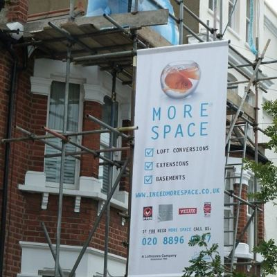 Small Format Scaffolding Banners & Boards