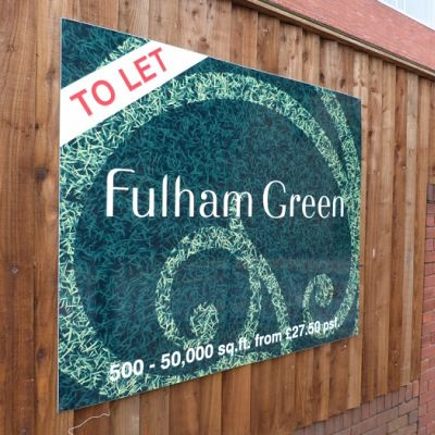 Estate Agent signs, boards and panels for residential homes