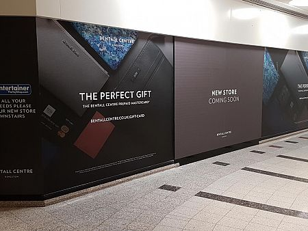 Bentall Centre Window Graphics