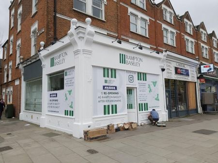Rampton  Baseley Shop Fascia