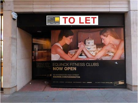 Large format window graphics