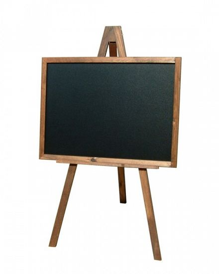 Chalk Board and Easel (Landscape)