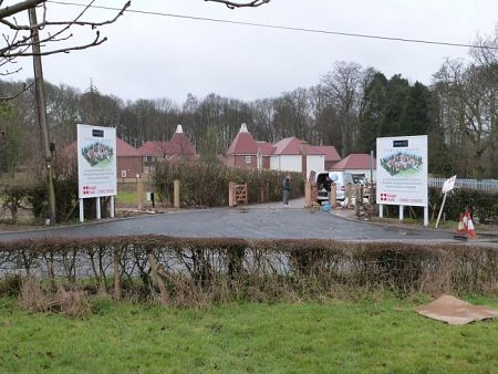 New Housing Development - Entrance Signage